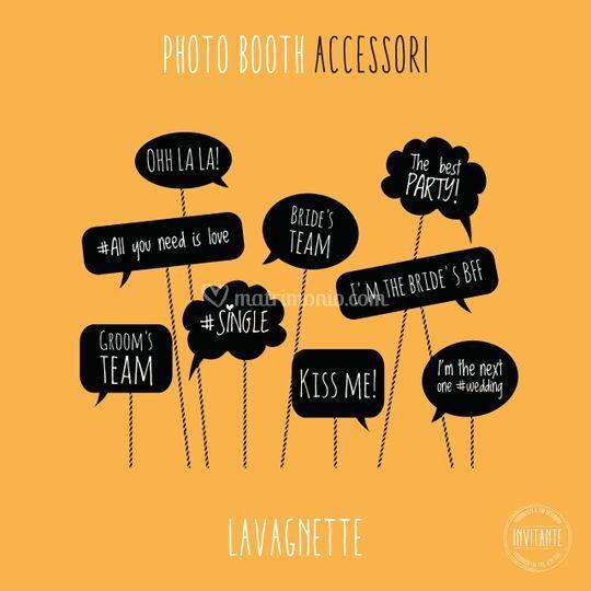 Photo booth - accessori