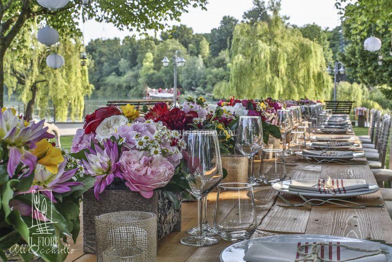 Allestimento Matrimonio Bohemien : Il fiore all occhiello