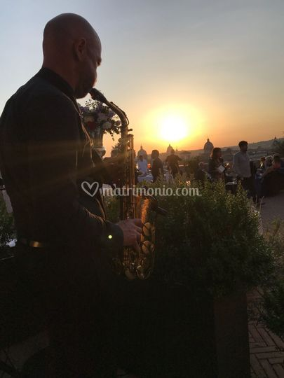 Sax Sunset Chill Out