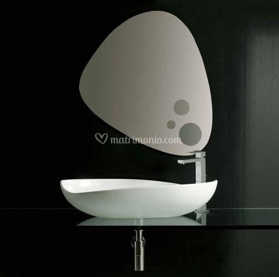 lavabo poison 75 di jo-bagno sanitari e arredo | foto 131 - Bagno Sanitari E Arredo