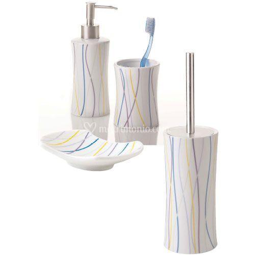 Set accessori bagno linfa di jo bagno sanitari e arredo - Set sanitari bagno ...