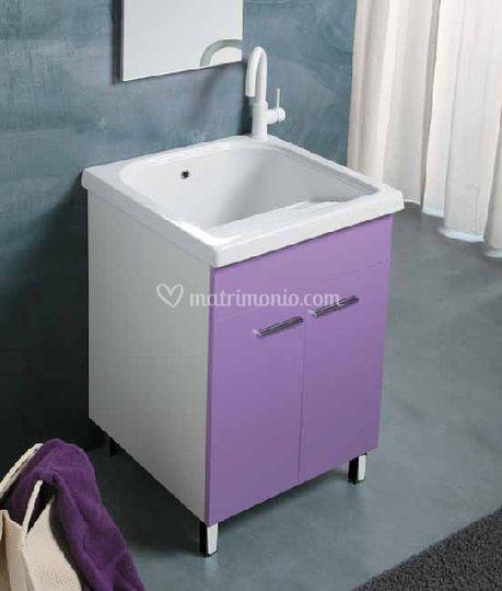 Vasca lavapanni con mobile
