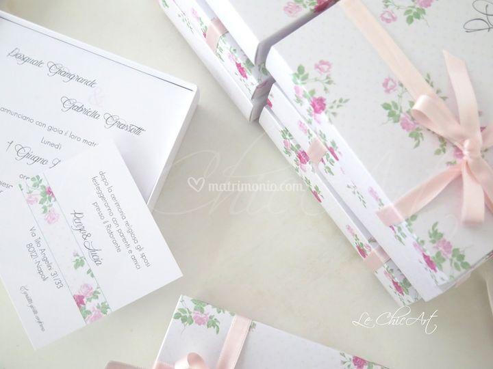 Wedding box graphiques
