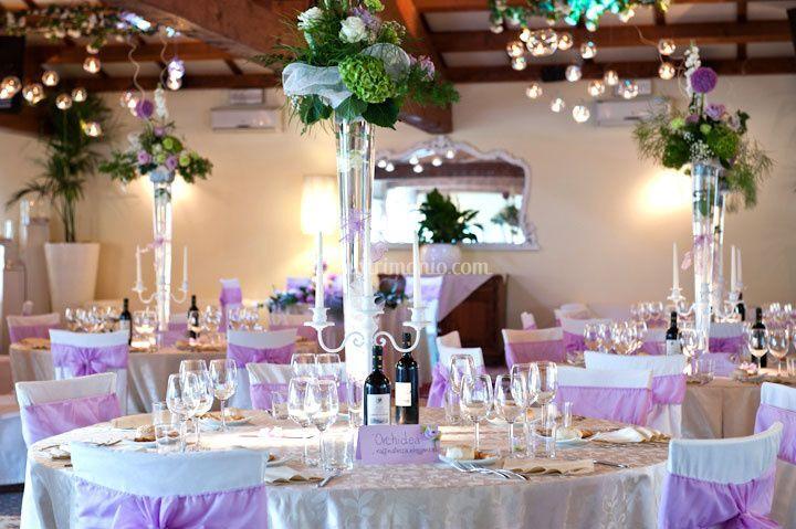 Sala da pranzo matrimonio