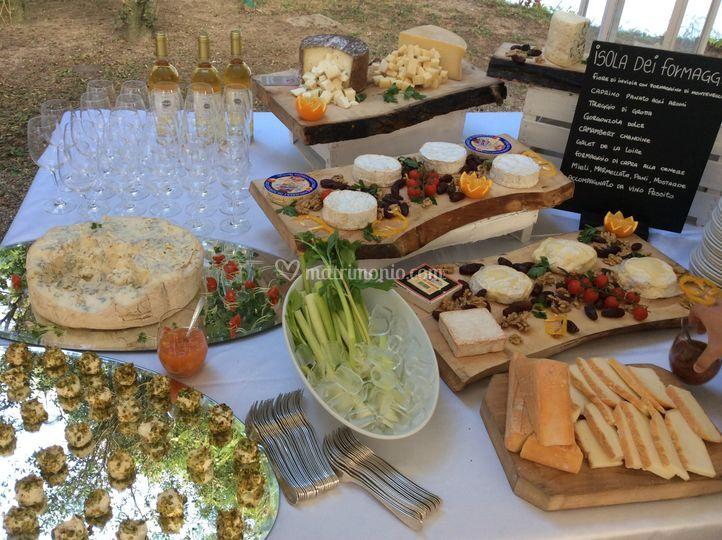 Buffet di formaggi