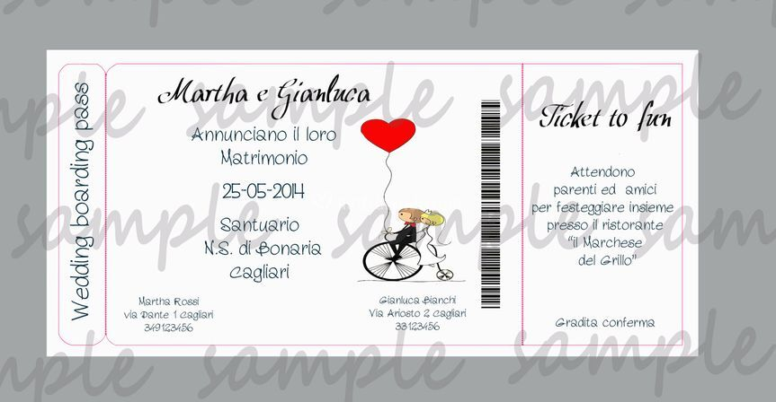 Partc boarding pass love cycle