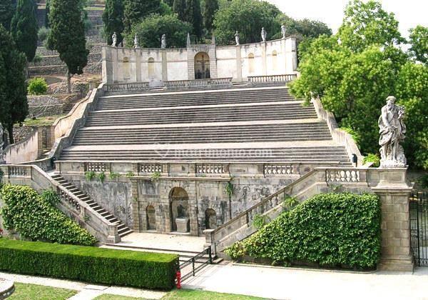 Rocca di monselice - Giardino all italiana ...