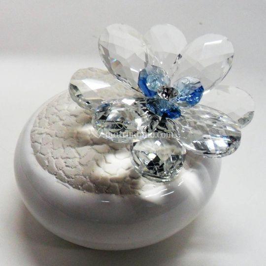 Fiore in cristallo sirmione