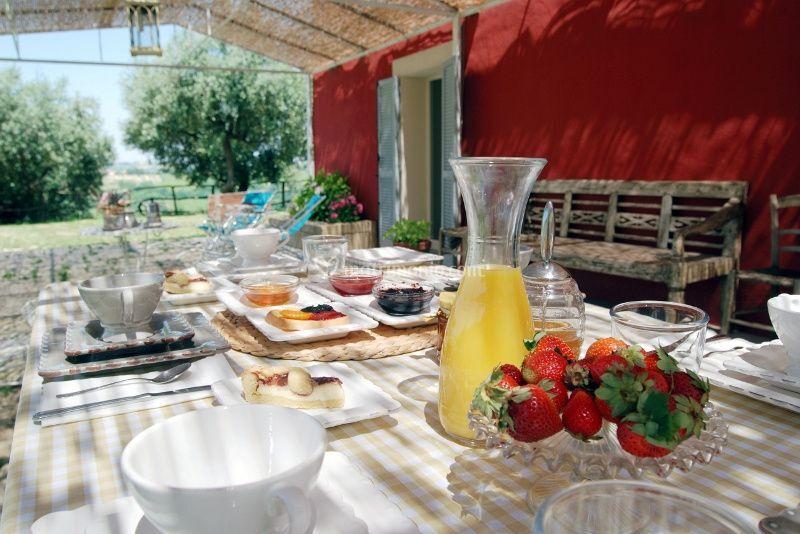 E colazione all'aperto