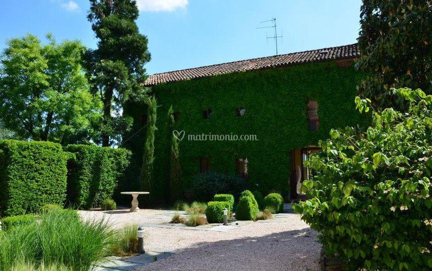 Villa dell 39 allodola - Giardino all italiana ...
