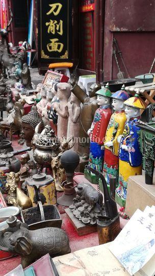Cina shopping antico