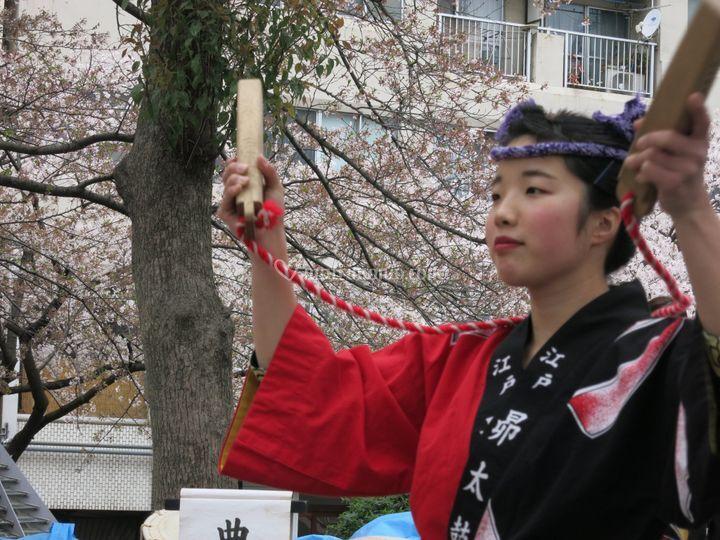 Giappone festival primavera
