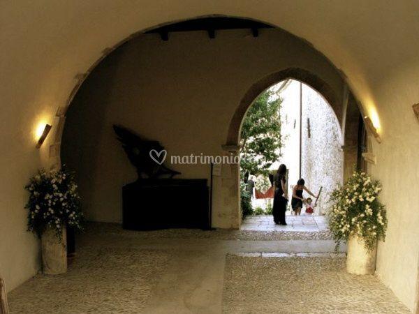 Entrata Monastero Santo Spirito
