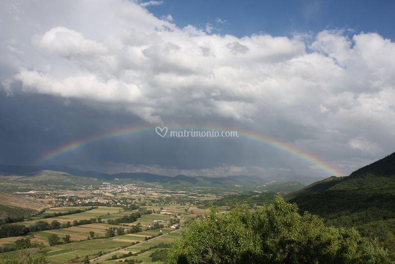 E se piove, l'arcobaleno
