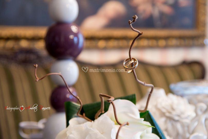 Le fedi sul bouquet