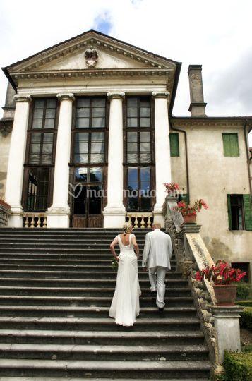 La romantica scalinata