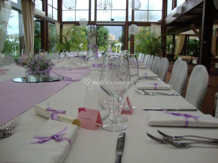 Tavolo imperiale glicine