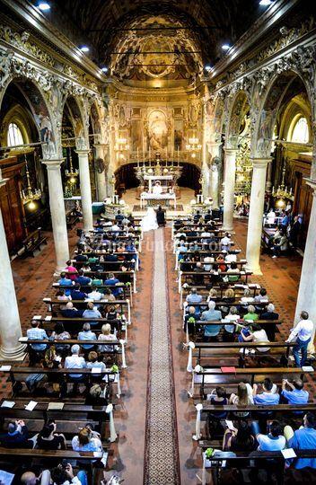 Fondo Chiesa dall'organo