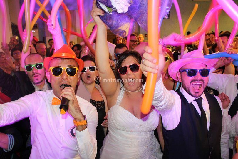 Matrimonio Travolgente - Festa