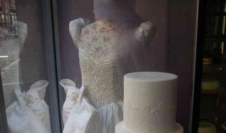Wedding cake con pizzo