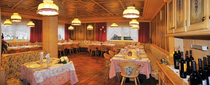 Sala rosa matrimonio