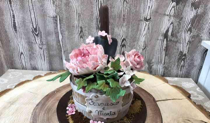 Vaso fiorito
