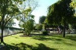 Giardino anteriore di Villa C� Bianca