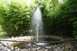 Dettaglio laghetto Fontana di Villa C� Bianca