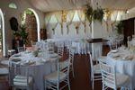 Salone allestito di Villa C� Bianca