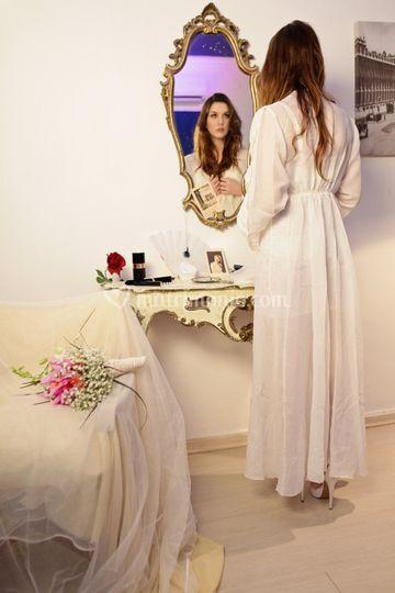 La sposa in preparazione