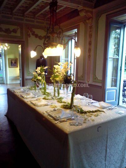 Villa maggi ponti for Sala pranzo vecchia