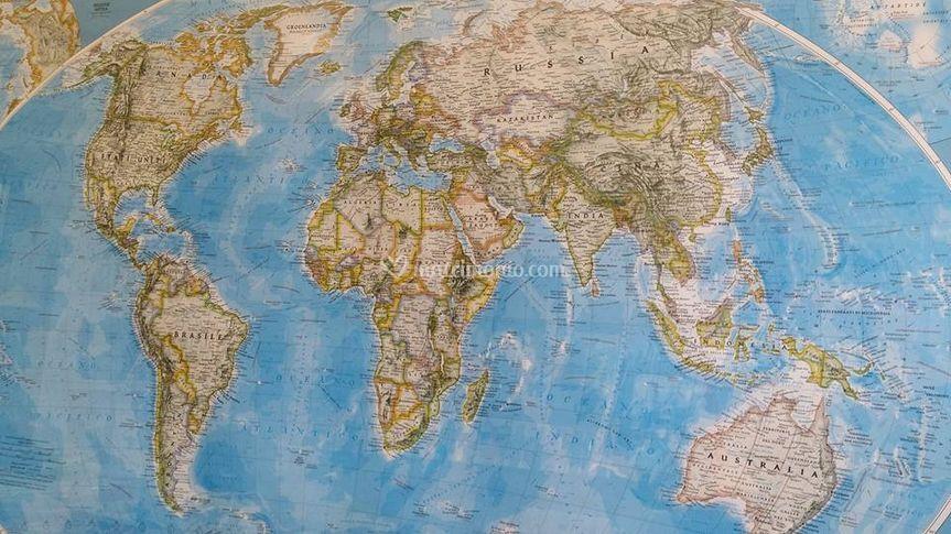 La nostra cartina
