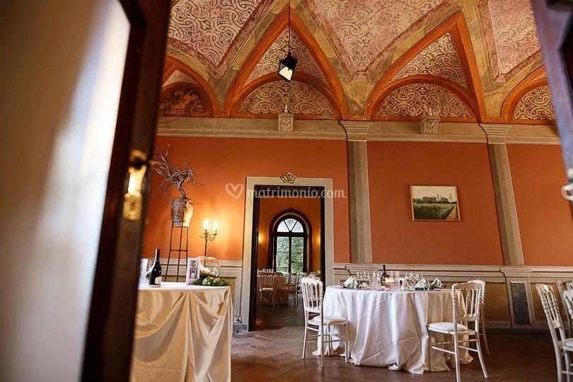 Sala affreschi seicenteschi