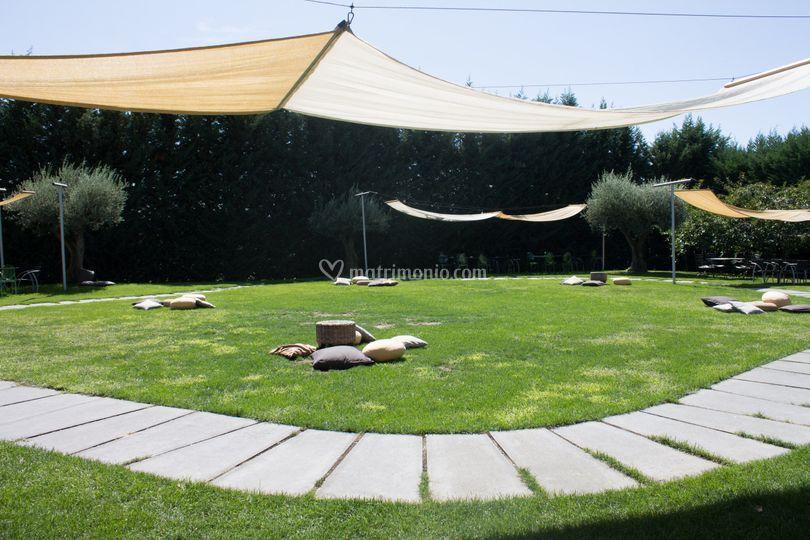 Il giardino - area relax
