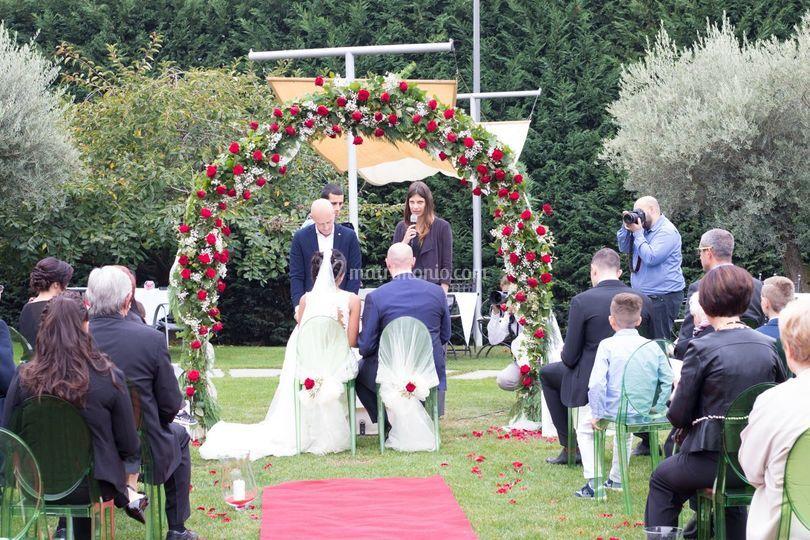 Blessing, matrimonio nel parco