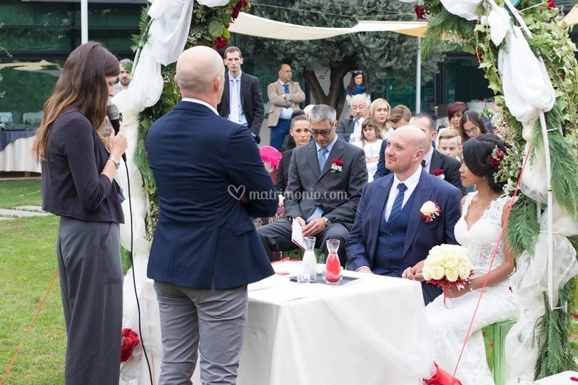 Blessing,matrimonio all'aperto