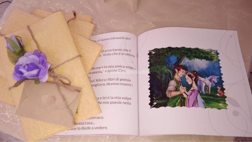 Bomboniera Libro