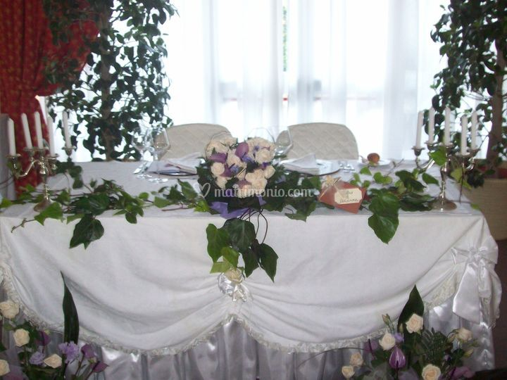 Bouquet campestre di miraglia fiori foto - Addobbi tavoli matrimonio casa ...