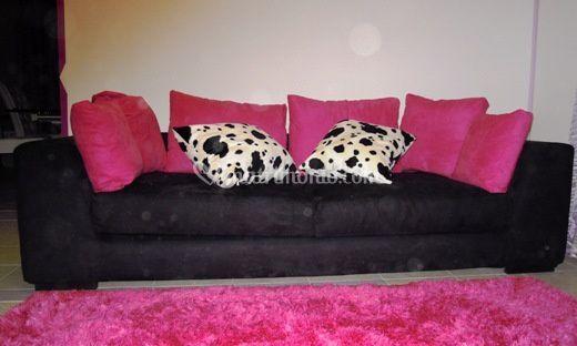 Divano mod. Pink Panther