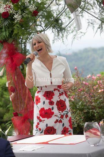 The singing celebrant