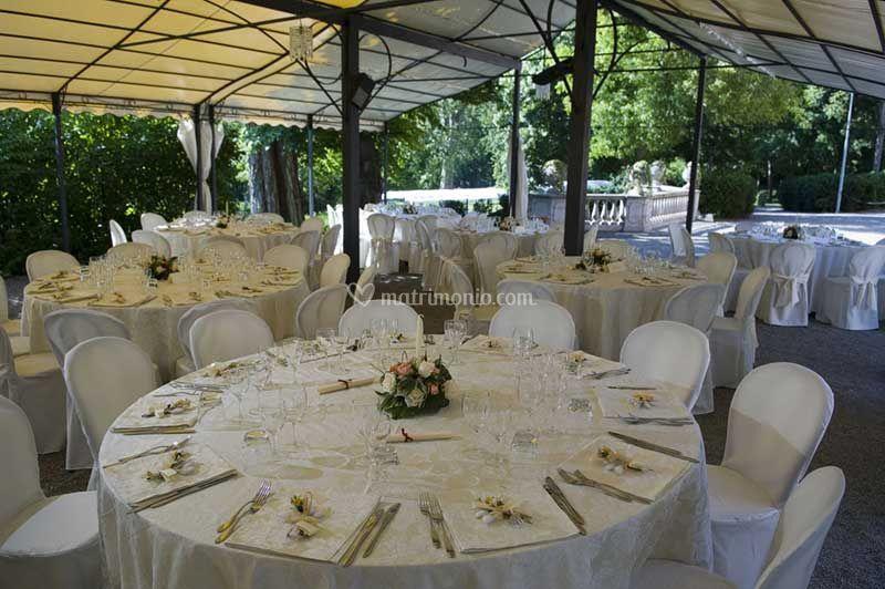 Banchetto Villa Scati