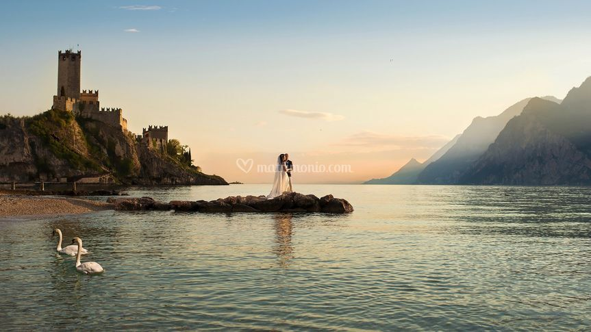 Fotografo matrimonio Garda