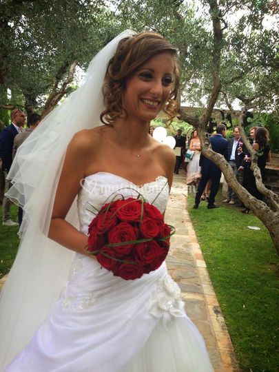 Sposa in red