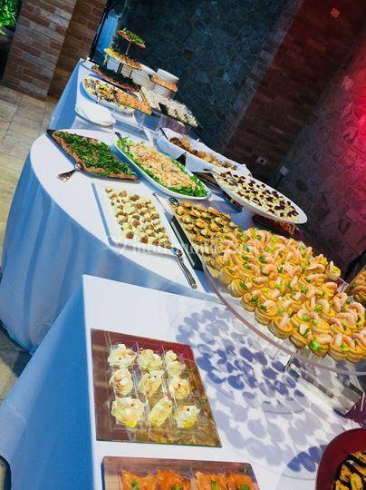 Gran buffet casa alexis