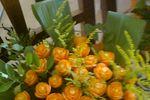 Buffet con Sculture fiori di Creazione Fiori