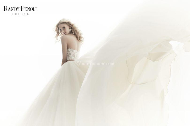 Dettagli abito sposa