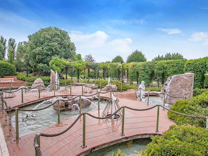 Cascina San Carlo - giardino