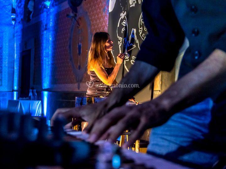 Pittura Popart & Live Jazz