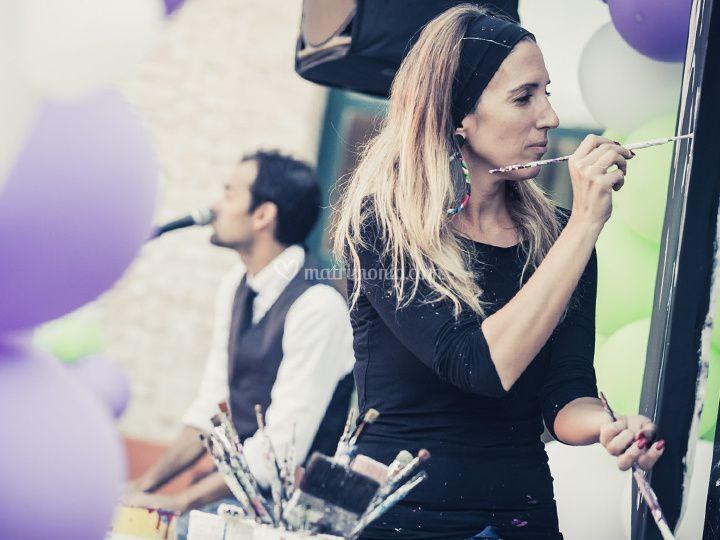Pittura popart & Musica Jazz
