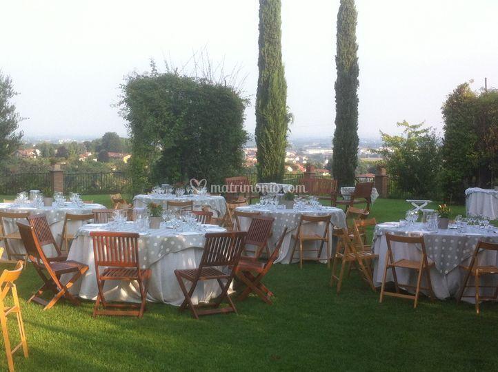 Evento in giardino